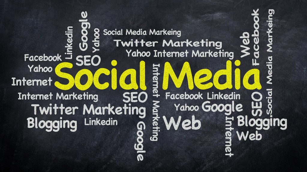 SEO social media texto
